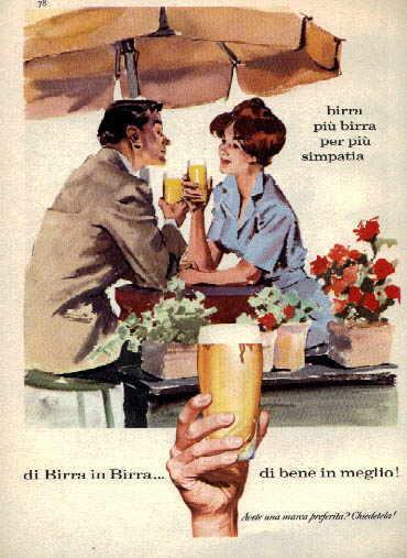 Super MONDO BIRRA - Pubblicità della birra - I Manifesti pubblicitari KY04