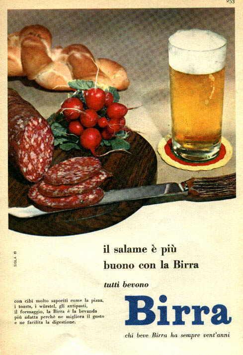 Super MONDO BIRRA - Pubblicità della birra - I Manifesti pubblicitari LH89